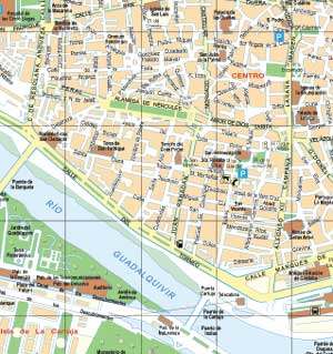 Life in Seville: Map of Sevilla and Other Cities in Spain